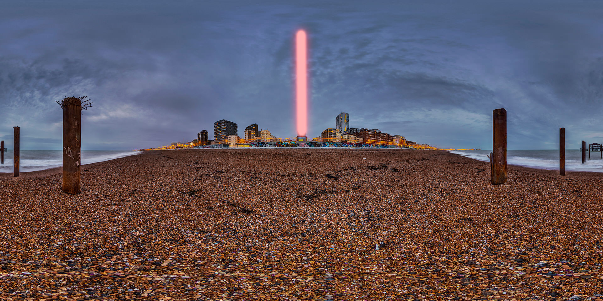 Brighton i360 is secretly giant Star Wars Light-saber!