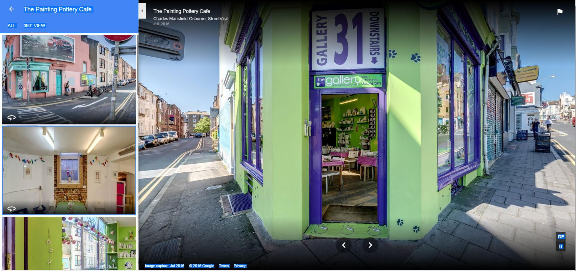 Google Maps Embed Virtual Tour